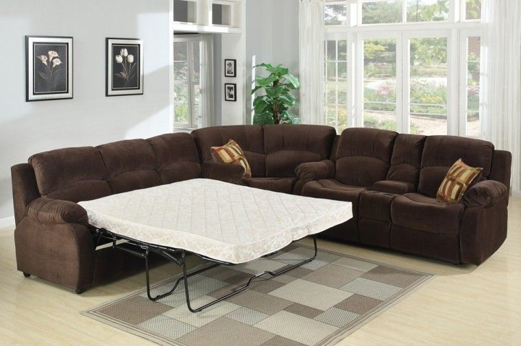 14 Interesting Sectional Sofas With Recliners And Sleeper Foto Idea Sectional Sofa Couch Sectional Sofa With Recliner Sectional Couch