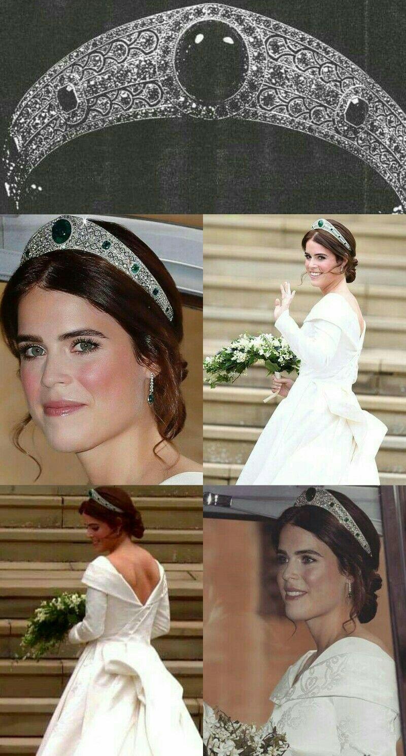 Graville Emerald Kokoshnik Princesa Eugenia De York Jewelry In