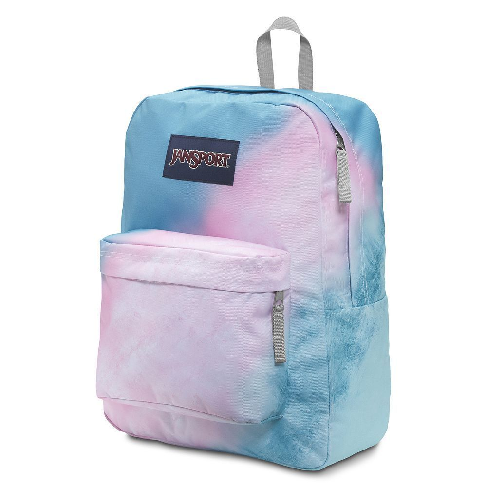 Jansport High Stakes Backpack Blue And Pink