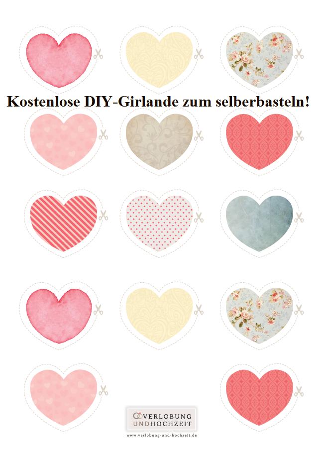 Unter www.verlobung-und-Hochzeit.de findet ihr schöne DIY-Vorlagen ...