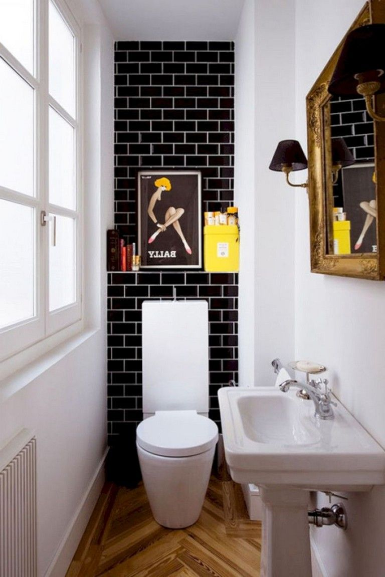 40 Elegant Small Bathroom Decor Ideas On A Budget Bathroom Bathroomdecor Bathroomdecorideas Small Bathroom Decor Very Small Bathroom Bathroom Design