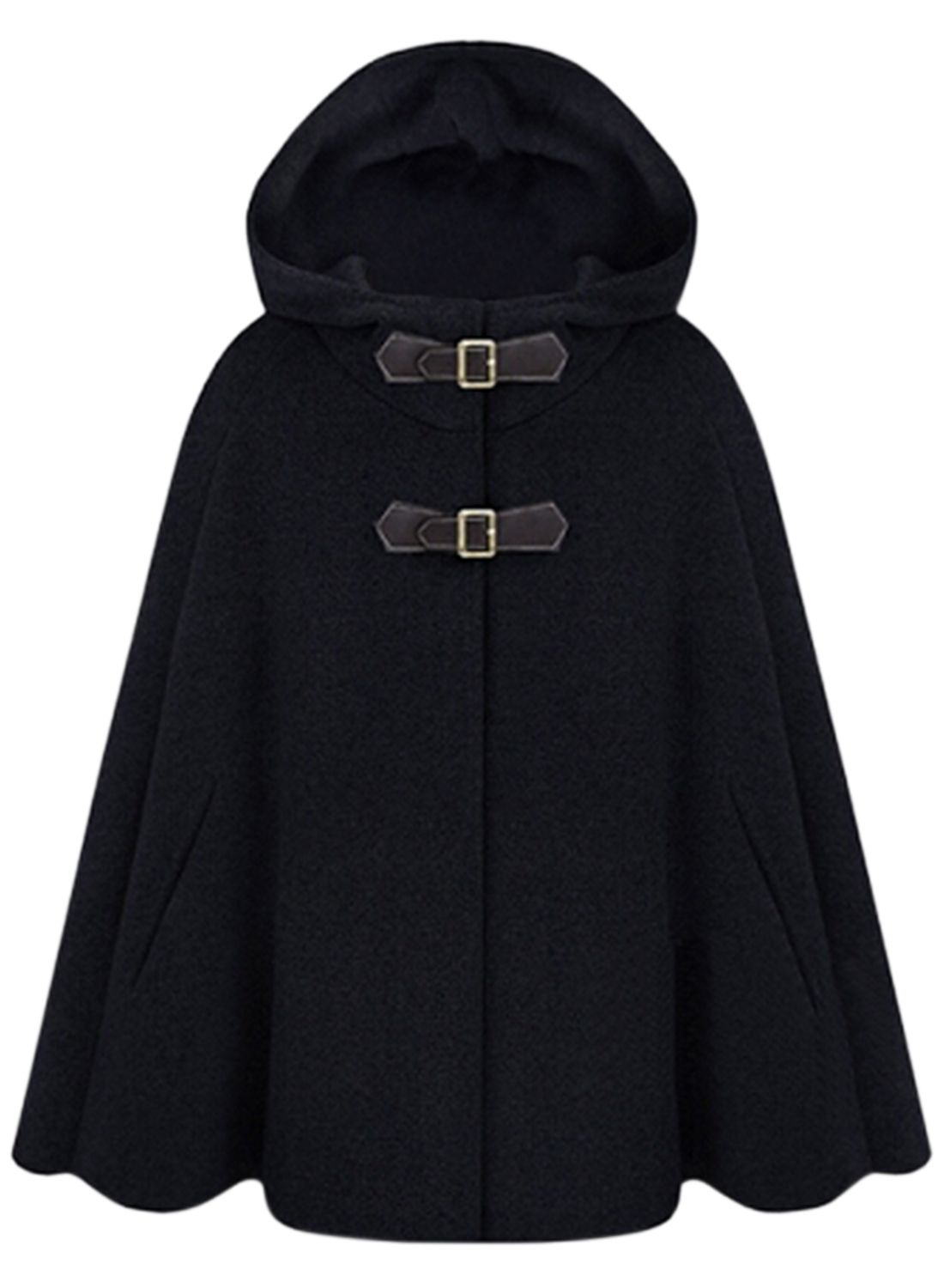 Cape Mit Kapuze Nähen The Cloak Coat Is Featuring Solid Color Cape Style With