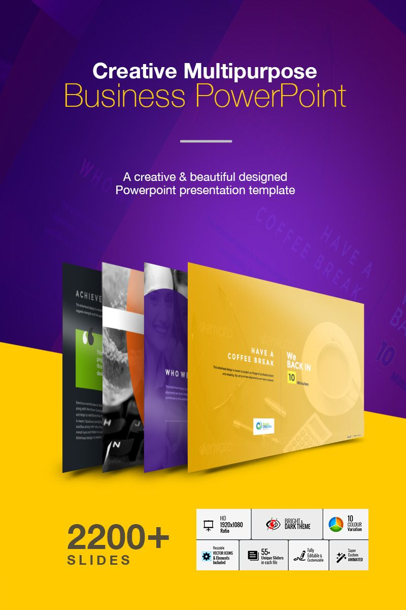 Creative Multipurpose Business PowerPoint Template,