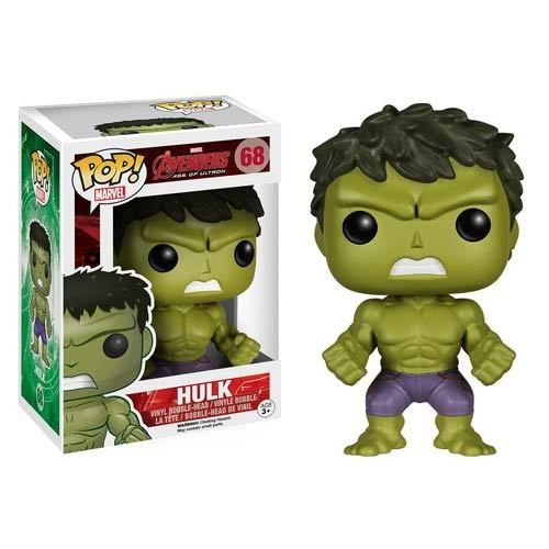 Avengers Age Of Ultron Pop Vinyl Hulk Bobble Head Figure Funko Pop Avengers Pop Vinyl Figures Hulk Avengers