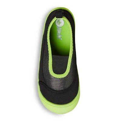 Boys' Newtz Water Shoes - Black/Lime (Black/Green) 2-3