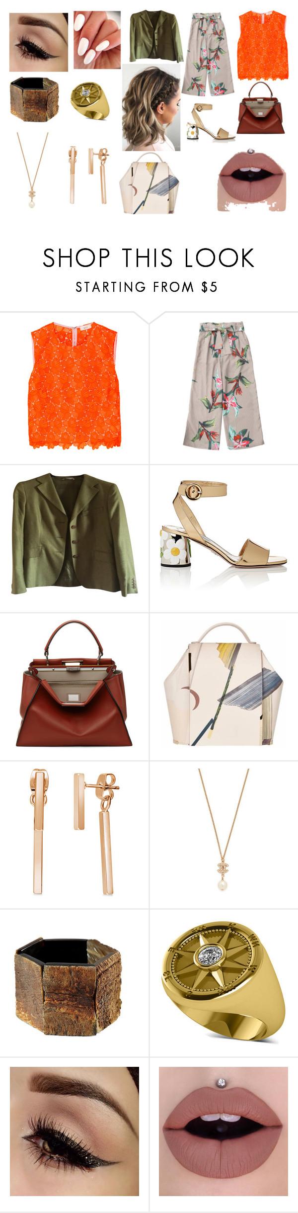 """Office trend"" by plozoya on Polyvore featuring moda, A.L.C., MaxMara, Prada, Fendi, Onesixone, BERRICLE y Allurez"