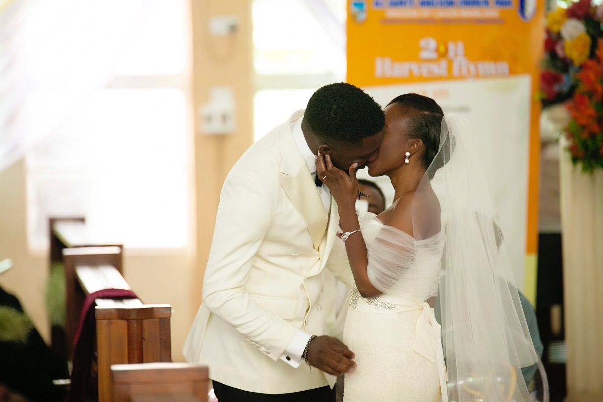 Modern Lagos Wedding at Ruby Gardens, Nigeria