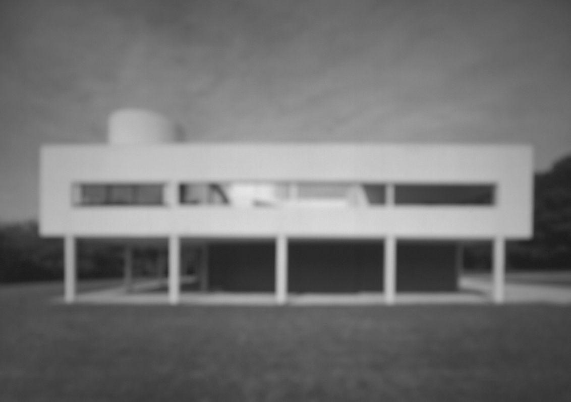 Hiroshi Sugimoto, Villa Savoye (1998).