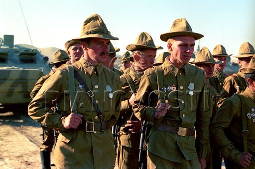 Soviet Troops In Quot Panama Quot Hats Afghanistan 1980 S