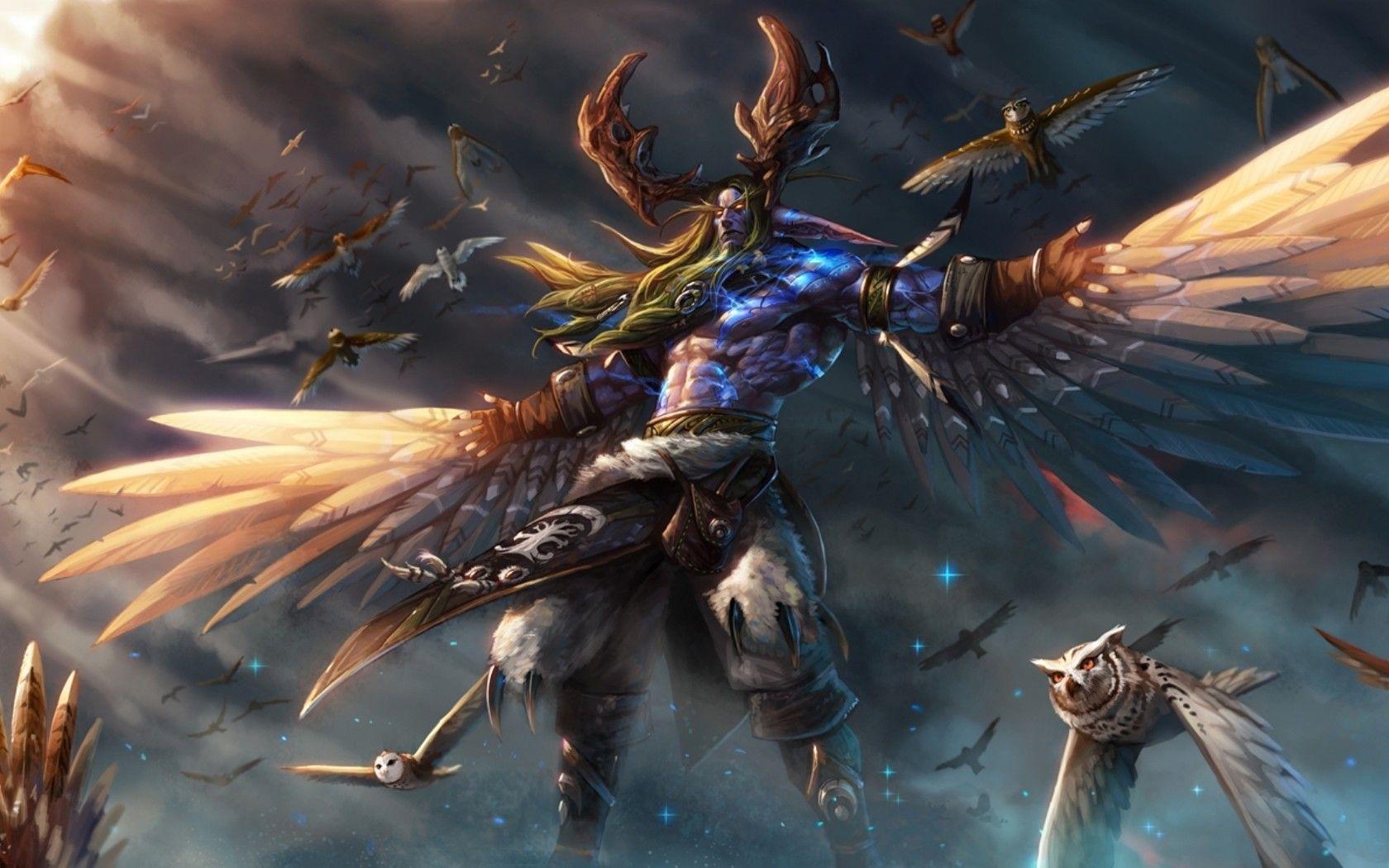 Image result for Malfurion vs dragon