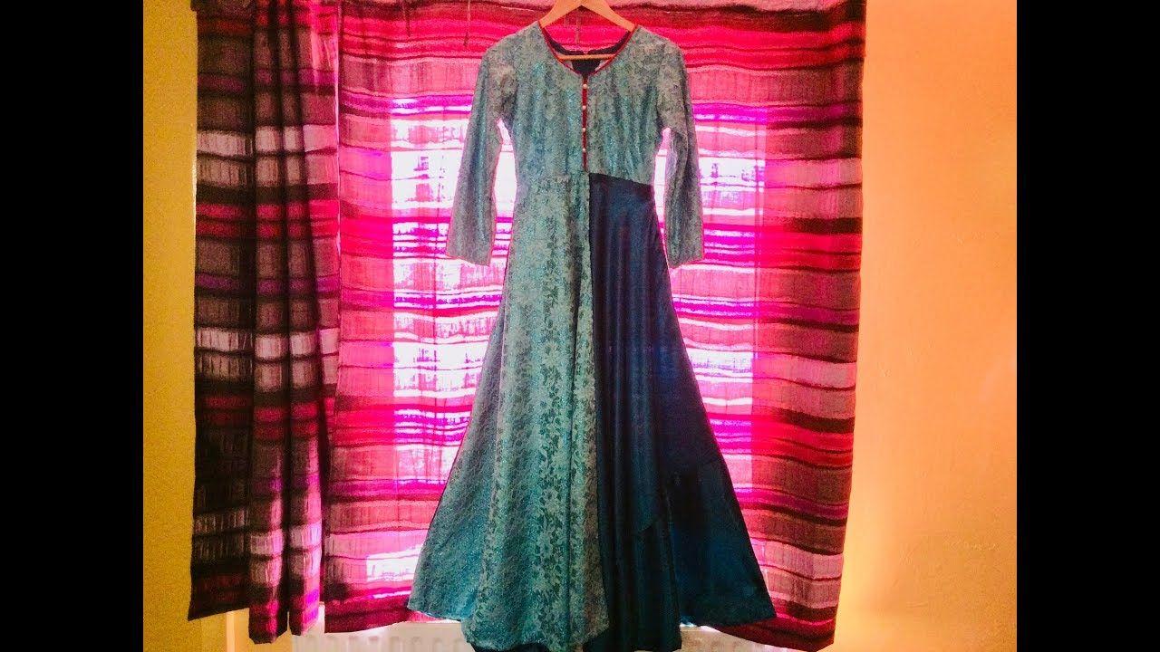 Onamika dress how to make designer dress from scratch in bangla