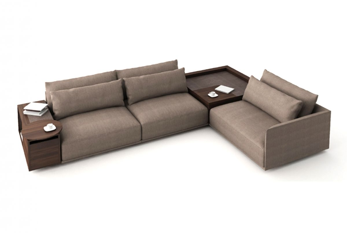 Natuzzi Long Beach Sofa Corner