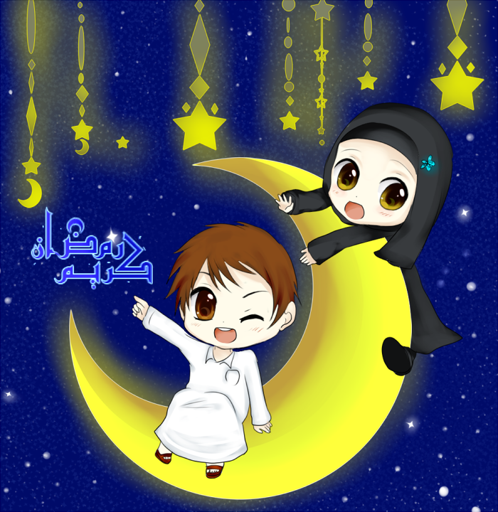 Ramadan Kareem By Gorenute On Deviantart Ramadan Kareem Islamic Cartoon Anime Muslim
