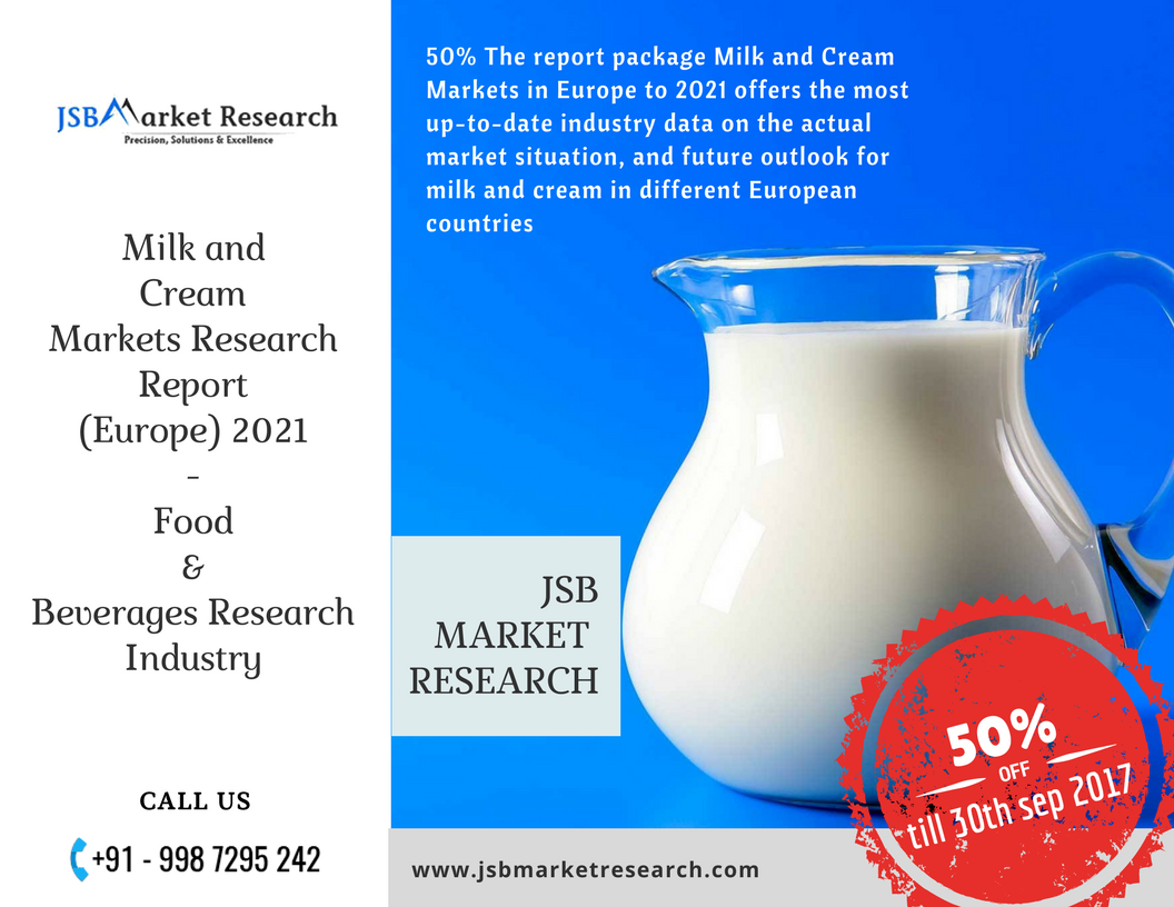 The Report Package Milk And Cream Markets In Europe To  Offers