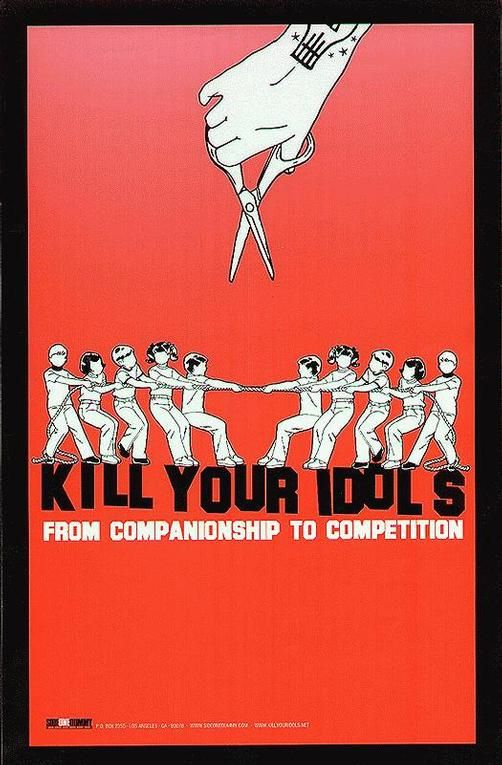 Original Concert Poster For The Kill Your Idols Album From Companionship To Competition 11 X 17 On Thin Glossy Paper Poster Hipster Decor Concert Posters