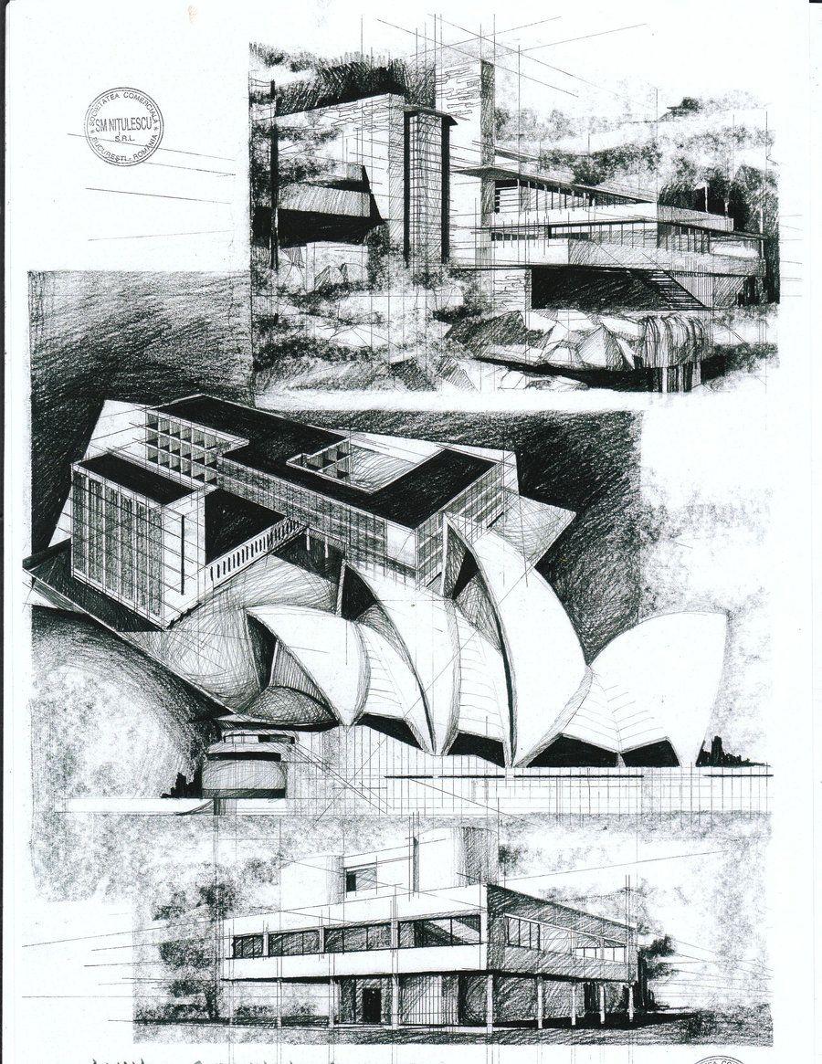 Modern Architecture Prints modern architecturealinageorgia7.deviantart on @deviantart