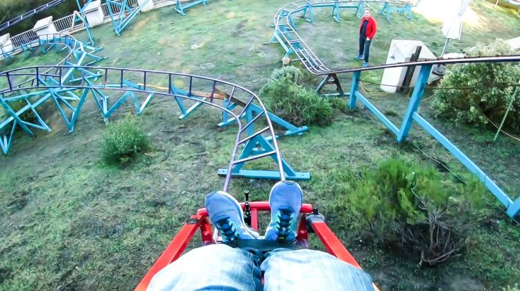 Obsessed - How This Guy Built a Roller Coaster In His ...