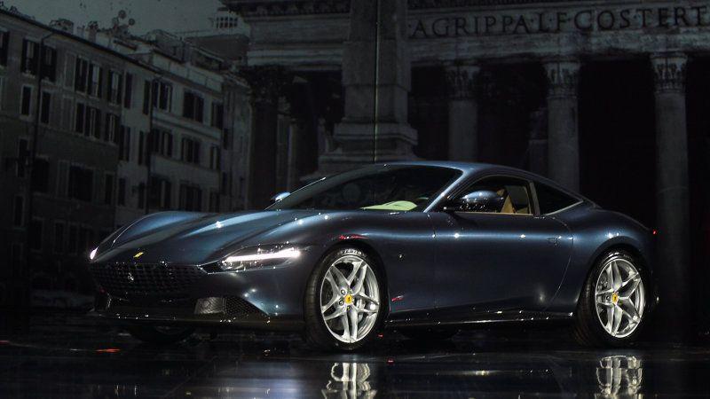 Ferrari Roma Interview Ferrari New Ferrari Roma