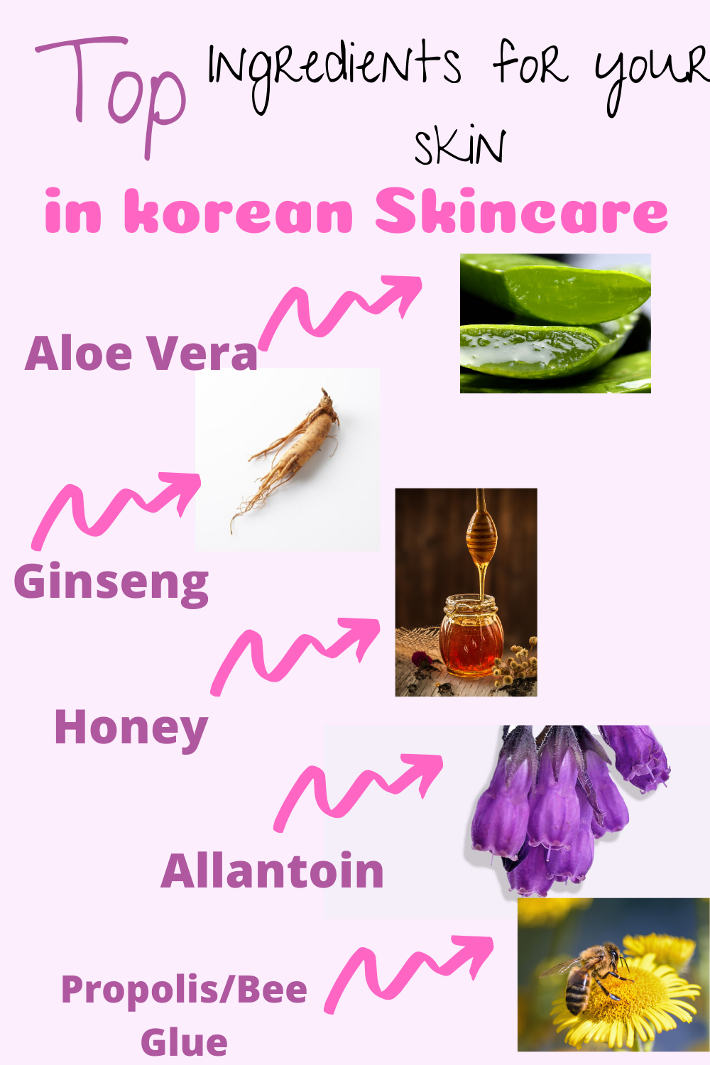 The ingredients is what makes korean skincare so amazing and beneficial for our skin.