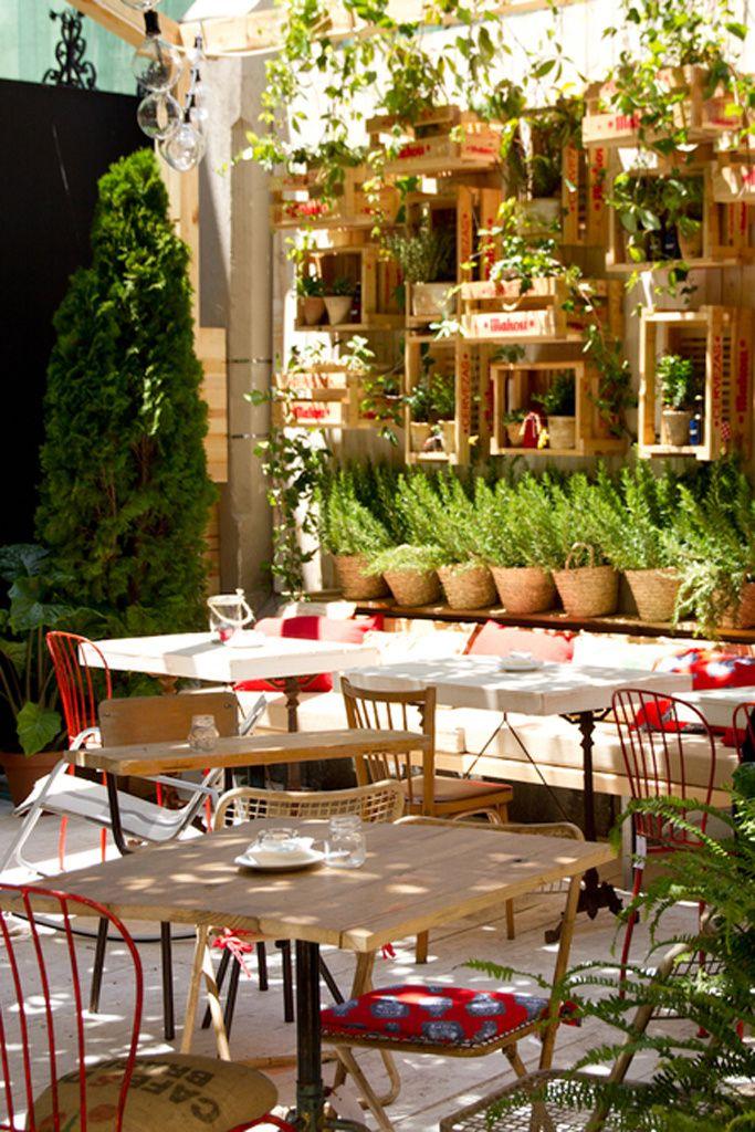 Agenda Glamour De Verano Bares Diseno Decoracion Terraza Diseno Del Restaurante