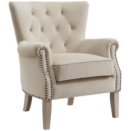 Better Homes and Gardens Rolled Arm Accent Chair, Multiple Colors