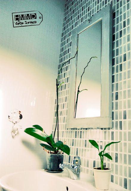 Cómo hacer un espejo con una ventana antigua, ventana vieja decapada convertida en espejo, how to make a mirror with an old window by Handmademaniadecor HMMD