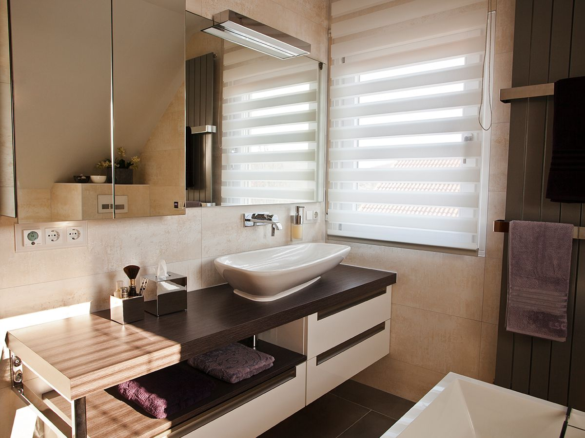 Badezimmer dekor einfach lassen sie sich von unseren fertigen kundebädern inspirieren