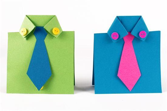petites chemises en papier f te des p res cravates noeuds pap fathers day scrapbook. Black Bedroom Furniture Sets. Home Design Ideas