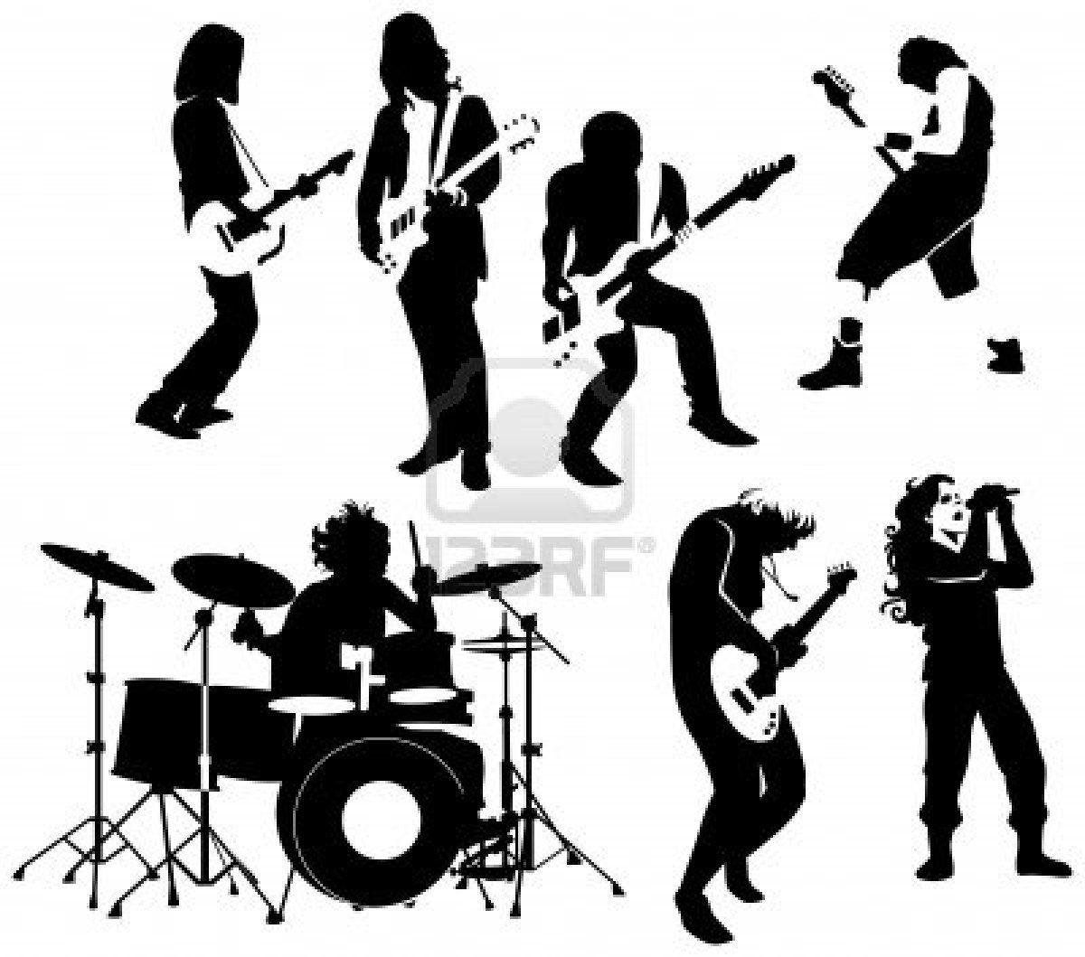 hight resolution of rock roll