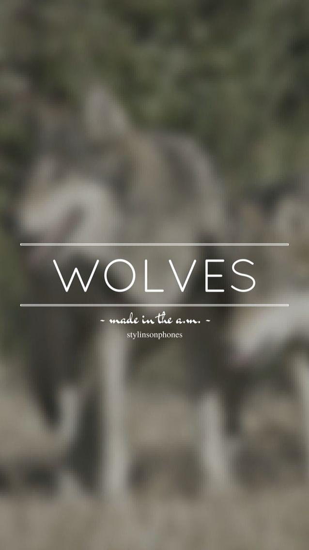 parole chanson wolves