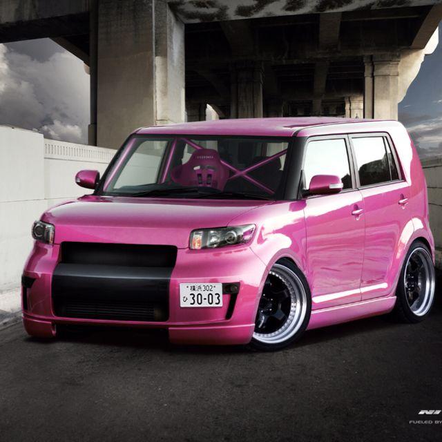 Tricked Out Pink Scion Xb 3 3 3 Scion Cars Scion Xb Lexus Accessories
