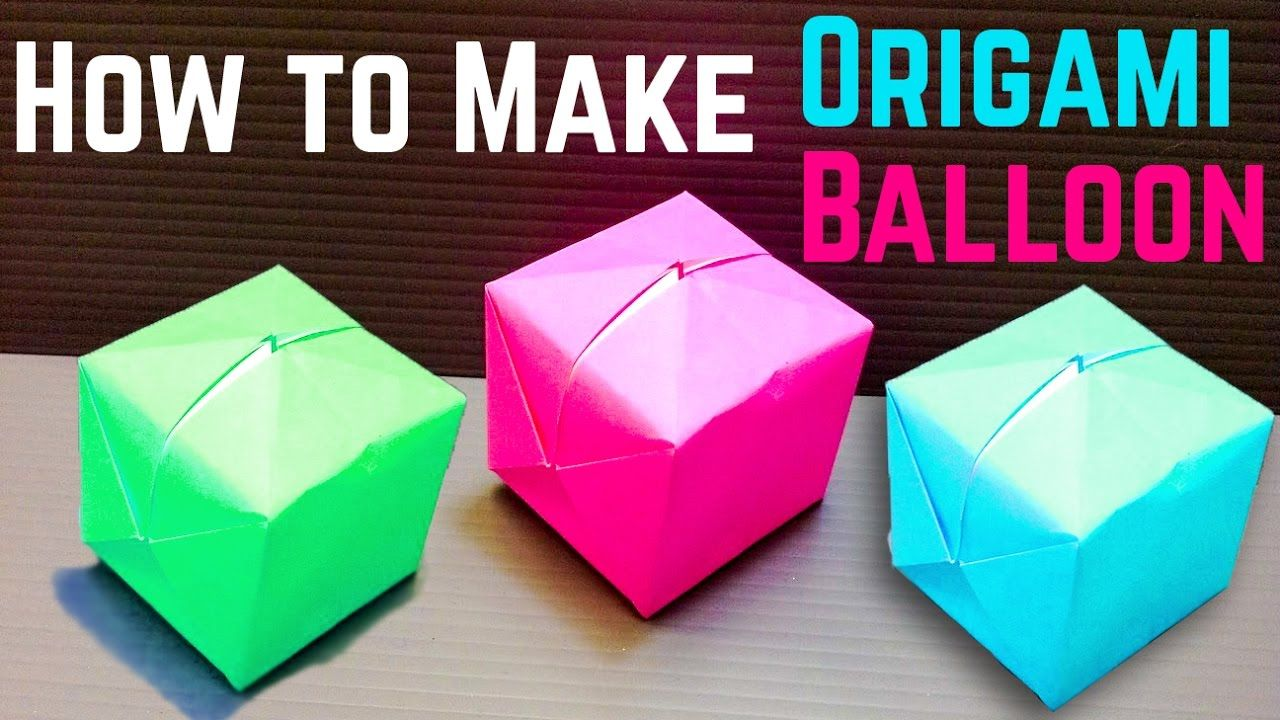 HOW TO MAKE ORIGAMI WATER BOMBS . — Gathering Beauty | 720x1280