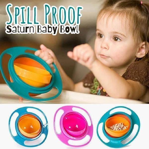 Safe No Spill Saturn Bowl For Kids 2019