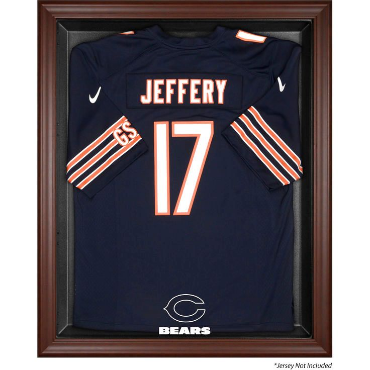 Chicago Bears Fanatics Authentic Brown Framed Logo Jersey Display Case - $159.99