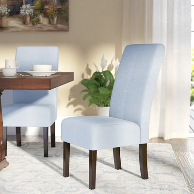 Back East Side Upholstered Dining Chair in 2018 Kitchen