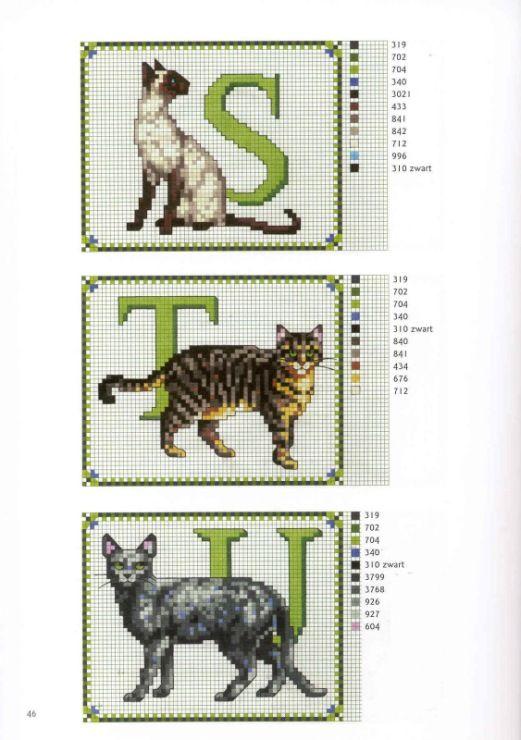 Gallery.ru / Фото #5 - Francien van Westering - Katten borduren met francien - anfisa1