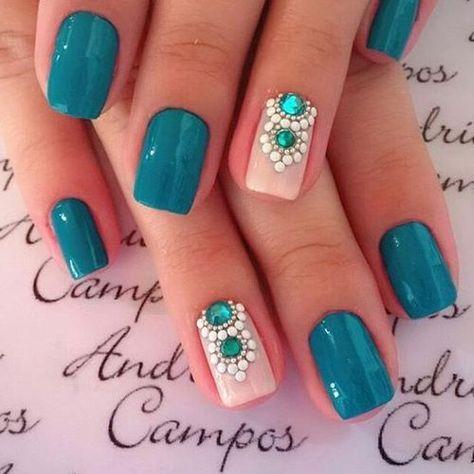 Nail Art Designs – 66 Best Nail Art Designs   Manicure, Beautiful ...