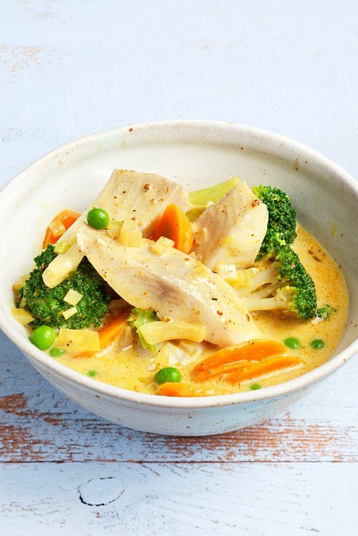 Fisch-Gemüse-Curry #indianfood