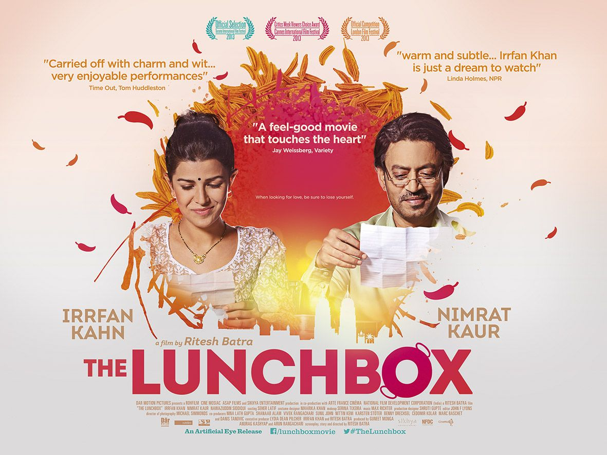 The Lunchbox | Good movies, Cinema posters, Lunch box