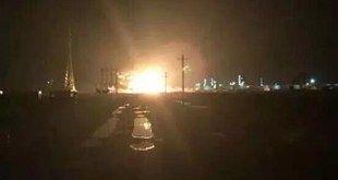 Explosões na China