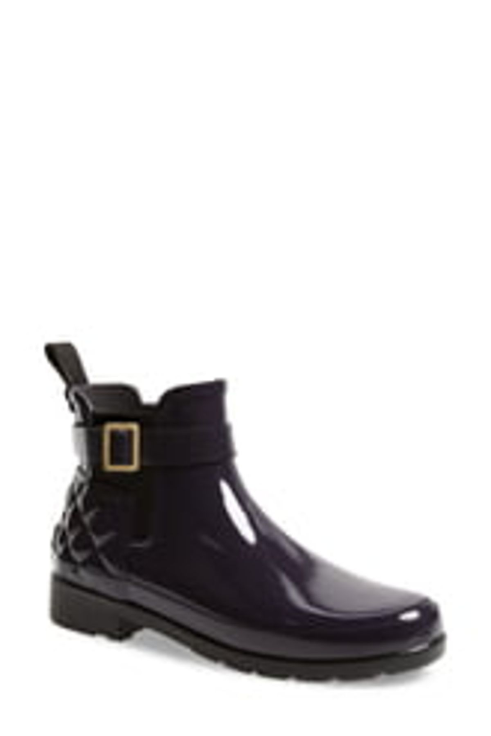 Hunter Original Refined Quilted Gloss Chelsea Boot