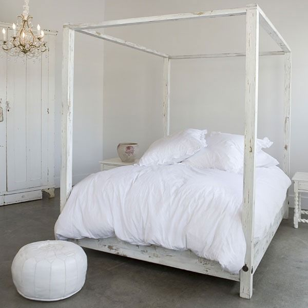 Ikea Canopy Bed Frame maybe darker. | Letti a baldacchino ...