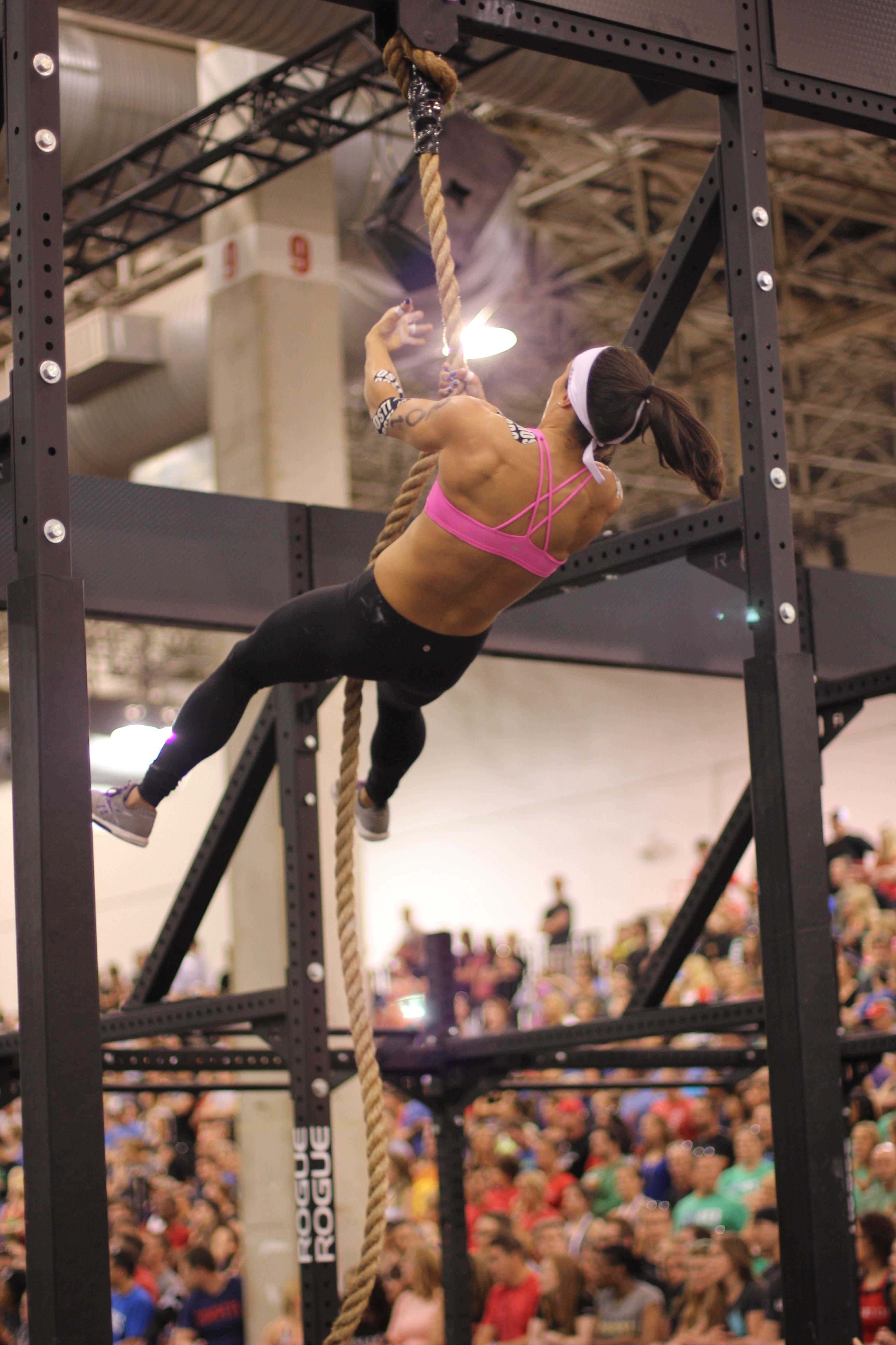 CrossFit Games 2014 Legless Rope Climb North Central