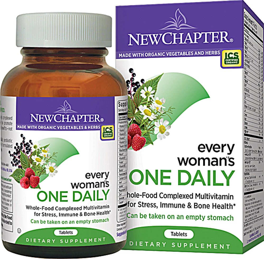 New chapter every womans one daily organic prenatal