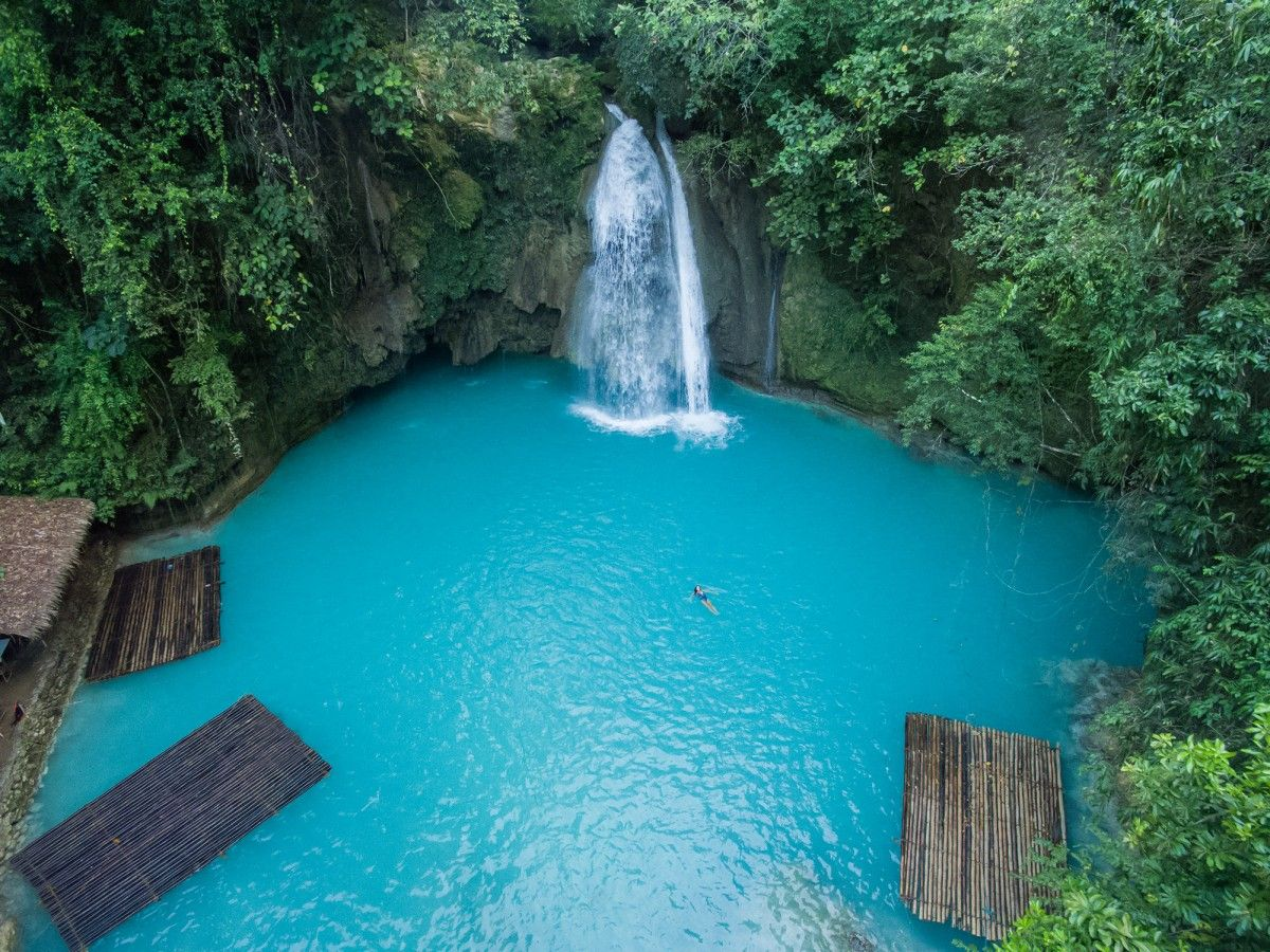 Are These The 20 Most Beautiful Places In The World Kawasan Falls Philippines And Beautiful