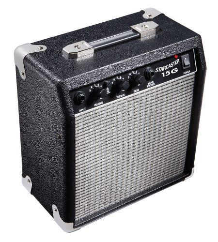 fender starcaster 15 watt electric guitar amplifier by fender starcaster the fender. Black Bedroom Furniture Sets. Home Design Ideas