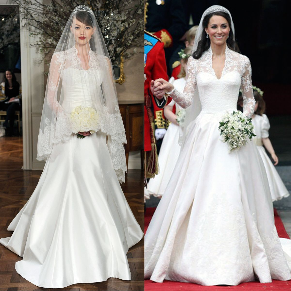 Three royal wedding dresses predicted by romona kevea royal three royal wedding dresses predicted by romona kevea ombrellifo Gallery