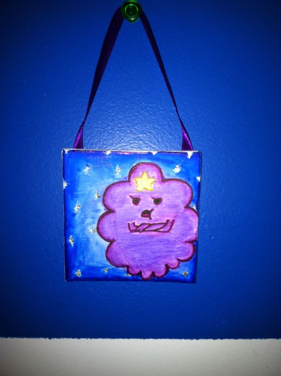 Smiley User: LolaBunnyBby My second Bic Mark It canvas creation.One of my favorite Adventure Time characters, Lumpy Space Princess! Bic Mark its make her look awesome, oh my glob. (: #BICMarkIt = <3