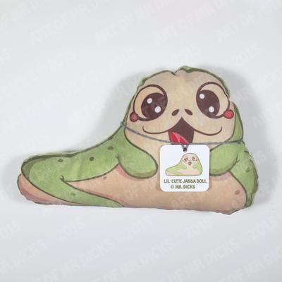 Jabba the cute plush
