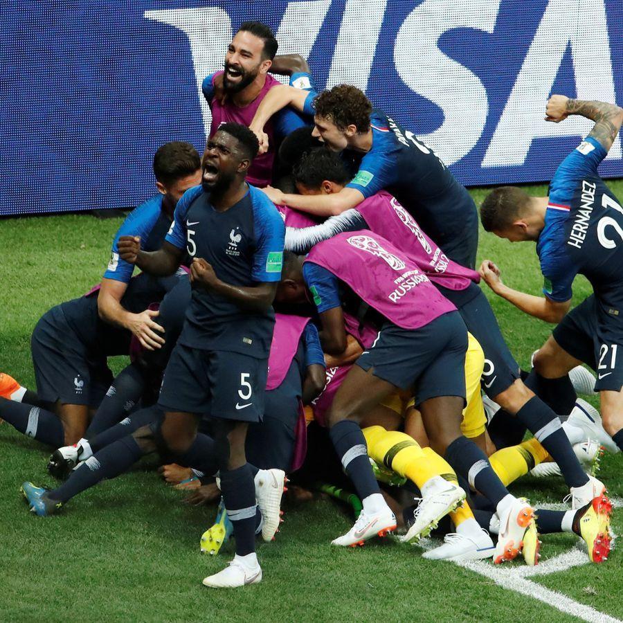 La France est championne du monde ! Joueur equipe de